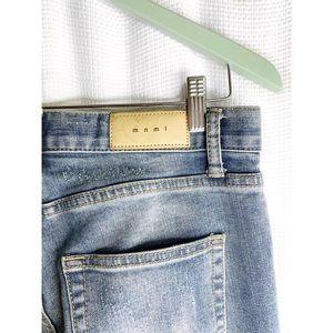 MNML distressed skinny jeans